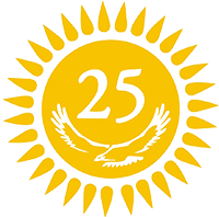 25 independence logo